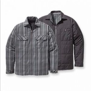 Patagonia reversible jacket/flannel